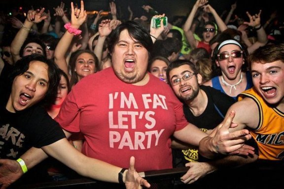 I'm Fat Let's Party T-Shirt