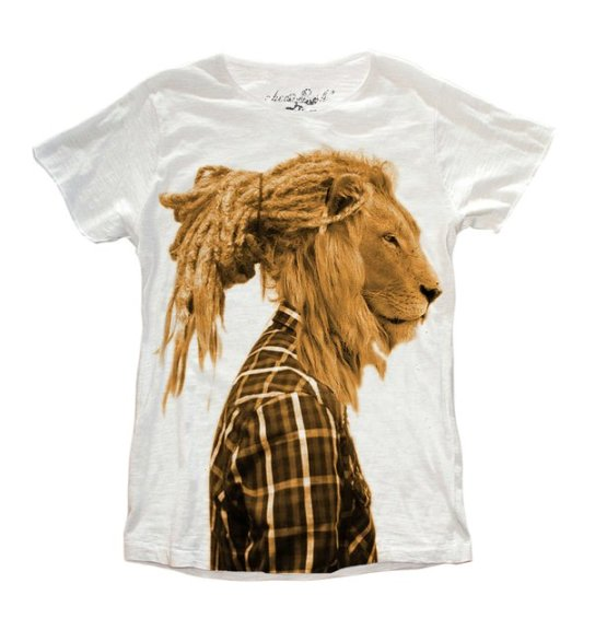 T-shirt Rasta Lion