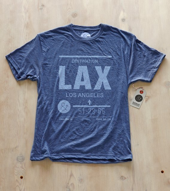 Los Angeles LAX Shirt by Pilot & Captain