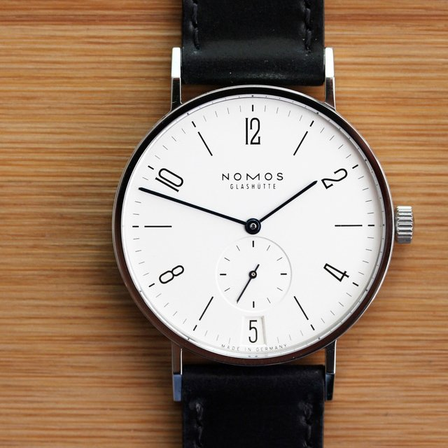 Tangente Datum Watch by NOMOS