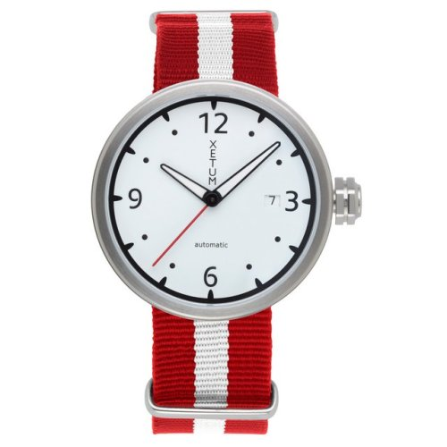 White Dial Kendrick Watch by Xetum