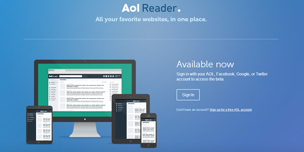 aol reader Best Google Reader Alternatives