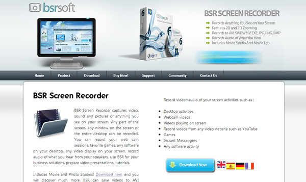 bsrsoft 8 Free Applications To Record Your Computer Screen