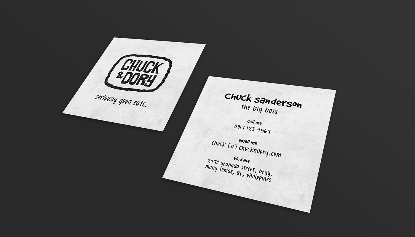 Chuck & Dory Business Cards