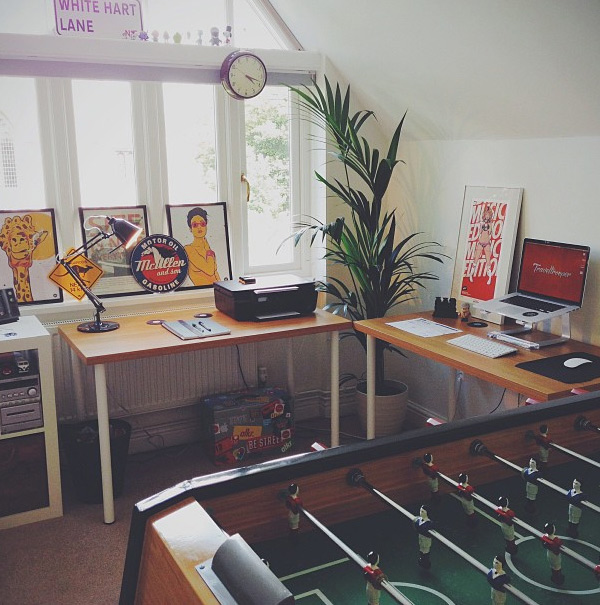 callum chapman 25 Workspaces of Designers from Dribbble