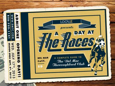 Del Mar Thoroughbred Club Ticket by Amy Hood