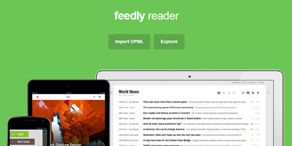 feedly reader Best Google Reader Alternatives