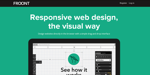 froont 20 Fresh Tools and Resources for Web Designers