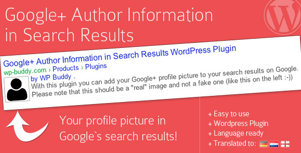 Google+ Author Information in Search Results