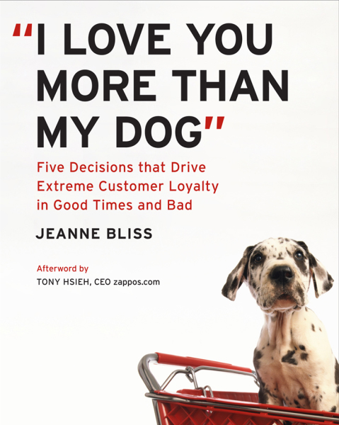 i love you more than my dog Accelerate Your Knowledge: 10 Essential Books on Customer Service