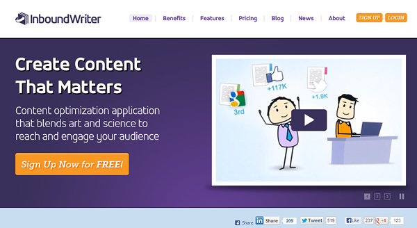 inboundwriter Content Marketing Strategy: 7 Tools You Must Know About