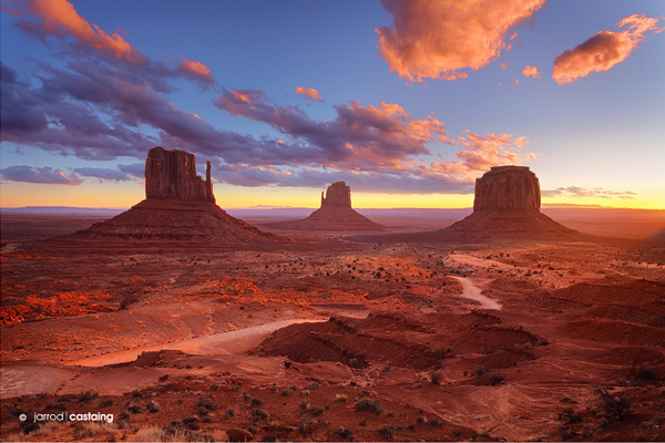monument valley by jarrod castaing Photography: Getting the most out of Diverse Environments