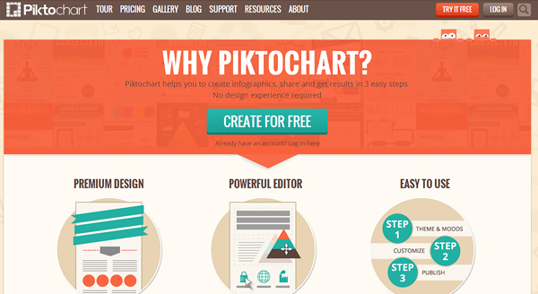 piktochart 7 Content Marketing Tools You Must Know About
