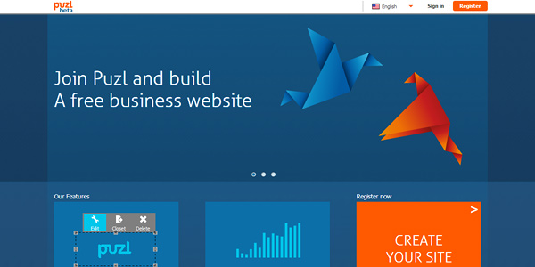 puzl 20 Free and Easy Website Building Tools