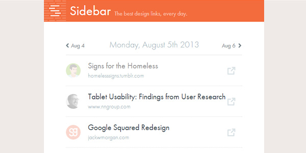 sidebar 20 Fresh Tools and Resources for Web Designers
