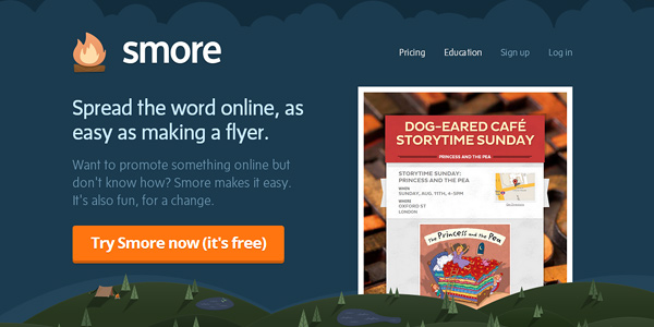smore 20 Free and Easy Website Building Tools