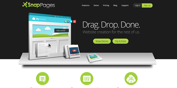snappages 20 Free and Easy Website Building Tools