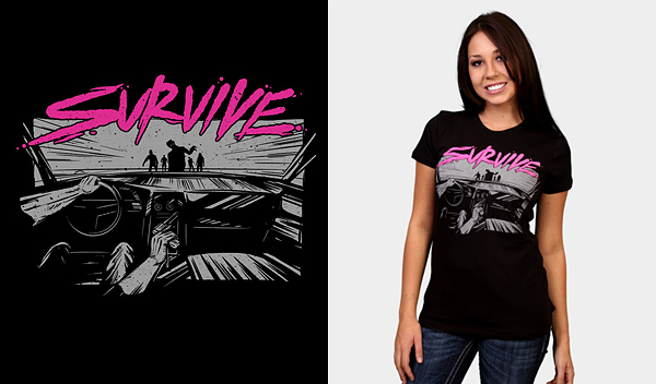survive 50 Inspiring & Creative T shirts You Can Actually Buy
