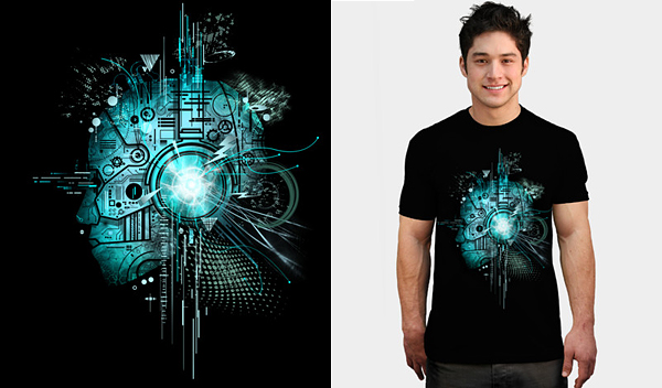 technosilent by silentop 50 Inspiring & Creative T shirts You Can Actually Buy