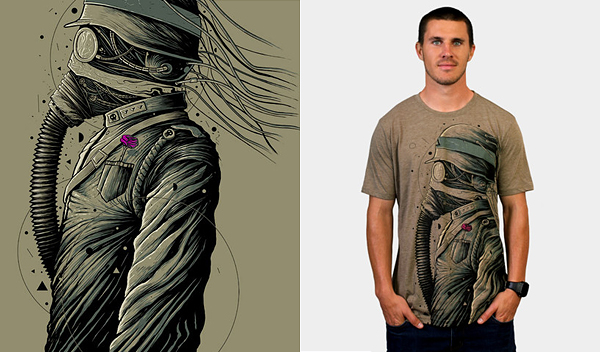 the dark officer by roncabardz 50 Inspiring & Creative T shirts You Can Actually Buy