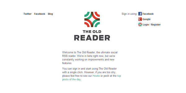 the old reader Best Google Reader Alternatives