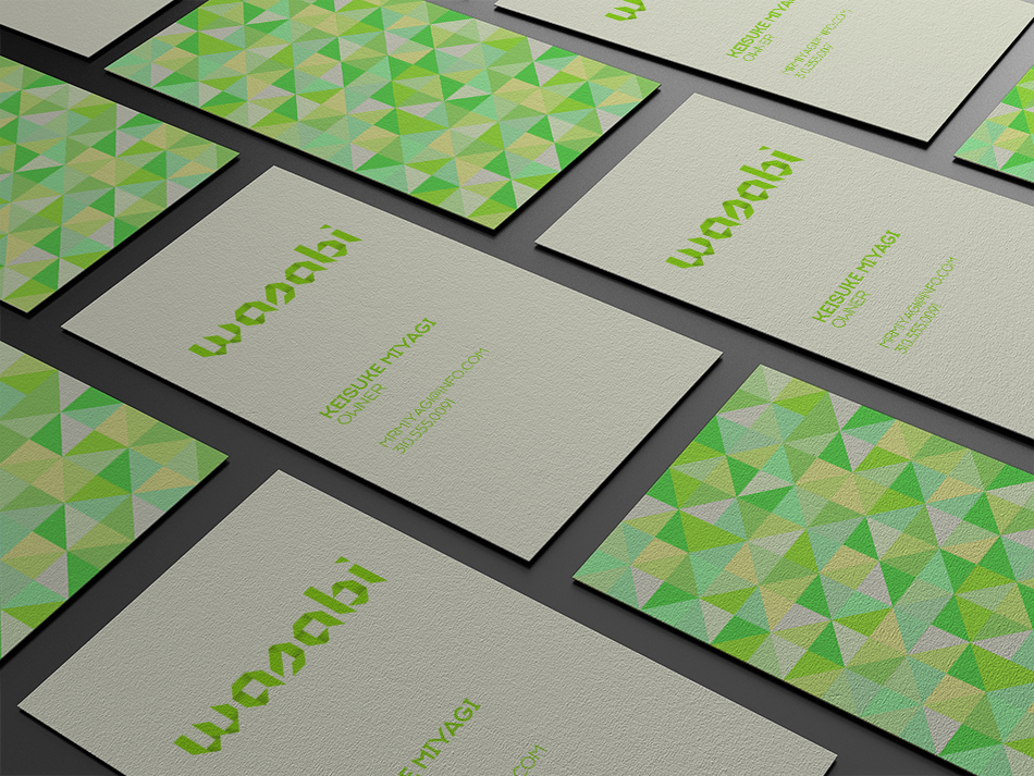 Wasabi Business Cards