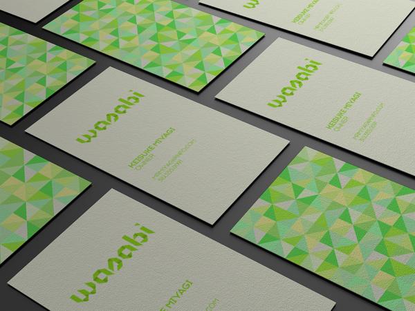 Wasabi Business Cards