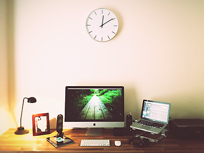 workspace11 25 Workspaces of Designers from Dribbble