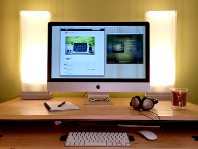 workspace 1x1 25 Workspaces of Designers from Dribbble