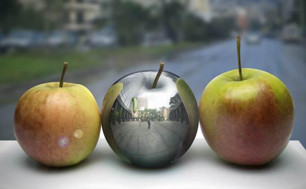 2-photo-realistic-metal-apple