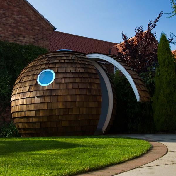 Luxury Garden Office by Archipod