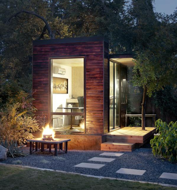 Outdoor Pod by Sett Studio