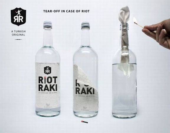 Turkish vodka ad