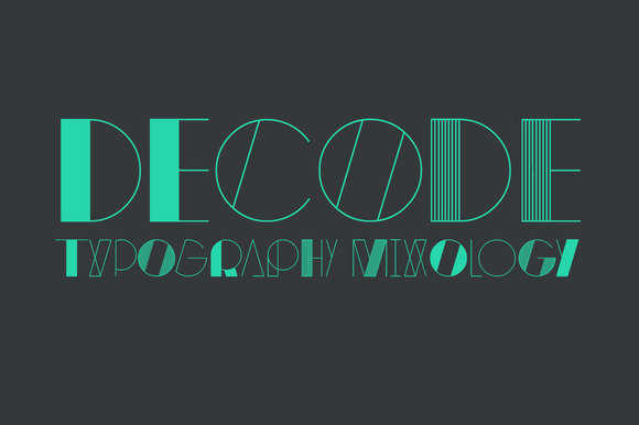decode family f1 20 Truly Unique & Creative Typefaces