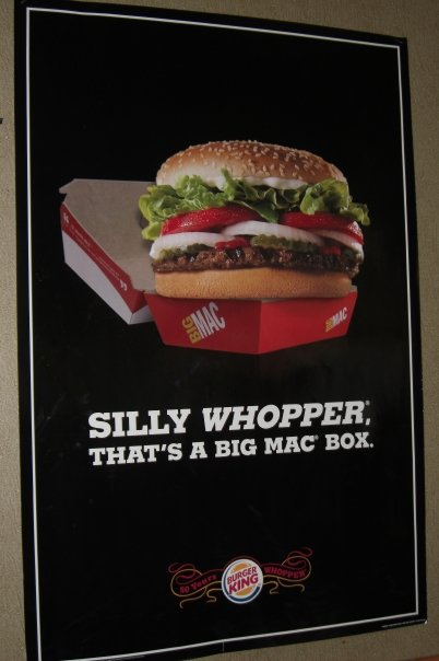 BK taking a swing at McDonalds