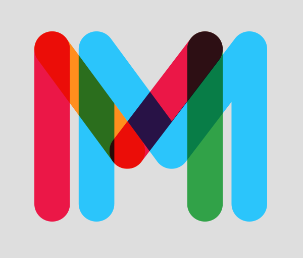 Multicolored Font