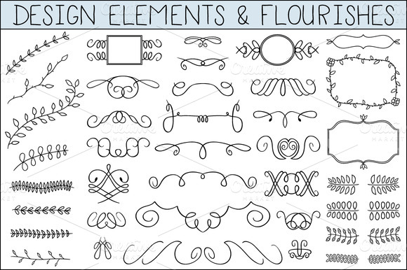 flourishcover f1 18 Incredible Design Bundles for DIY Projects