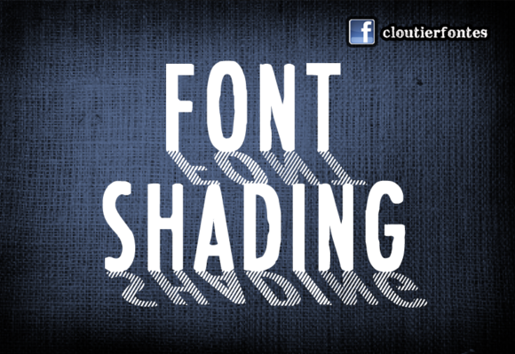 font shading banniere copy f1 20 Truly Unique & Creative Typefaces