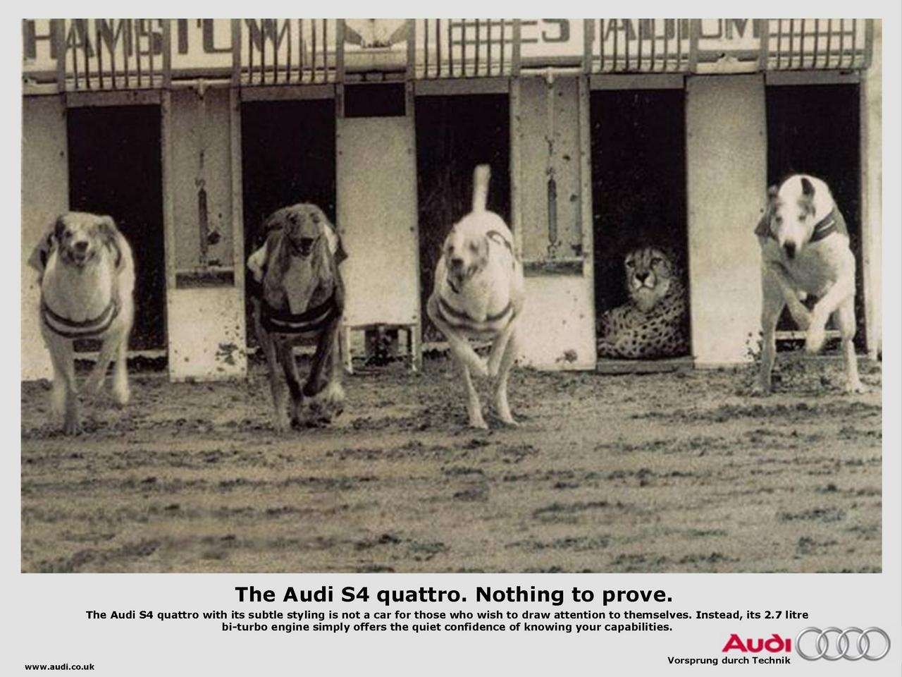 Audi - Nothing to Prove Print Ad