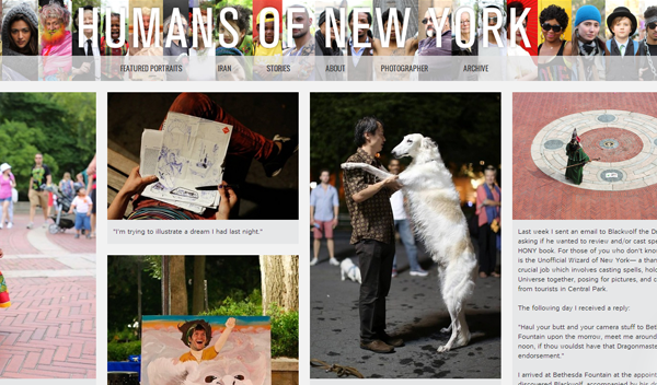 humansofnewyork 20 Tumblr Blogs You Should Be Following