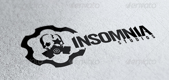 Insomnia Gas Mask Logo