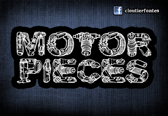 motorpieces banner copy f1 20 Truly Unique & Creative Typefaces