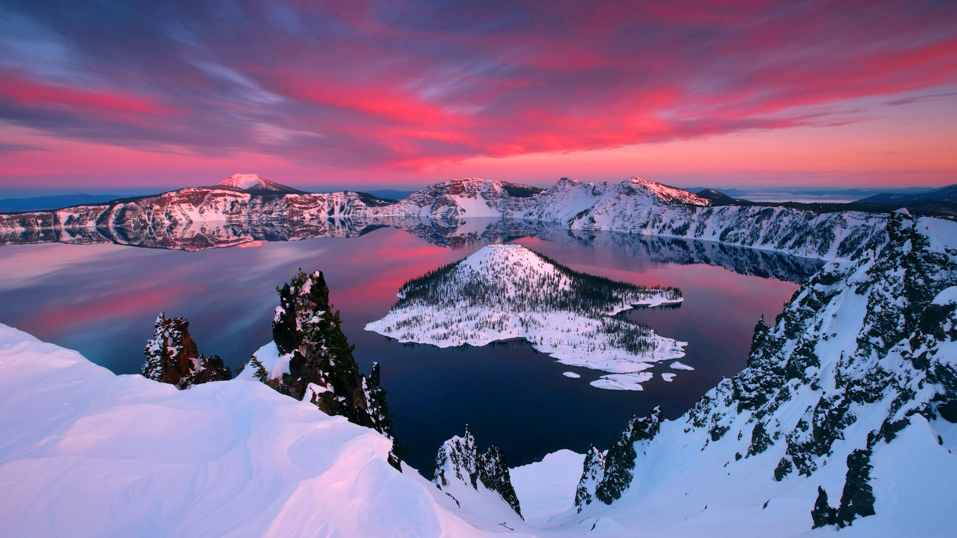 Crater Lake, Oregon, U.S.