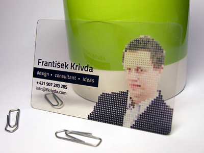 Personal Business Card by Frantisek Krivda
