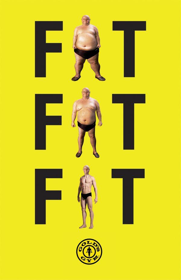 Gold's Gym Print Ad