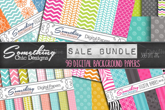 somethingchicsalebundle f1 18 Incredible Design Bundles for DIY Projects