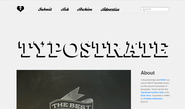 typostrate 20 Tumblr Blogs You Should Be Following