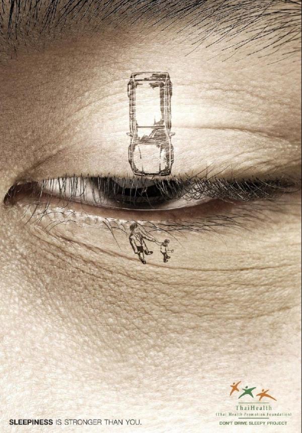 Thai Anti-Sleepy Driving Ad
