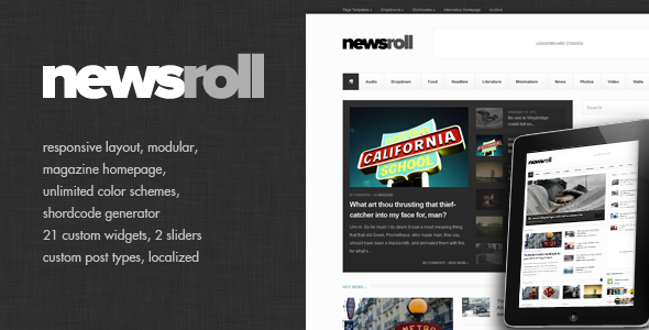 01 cover   large preview13 40 Premium News and Editorial Wordpress Themes