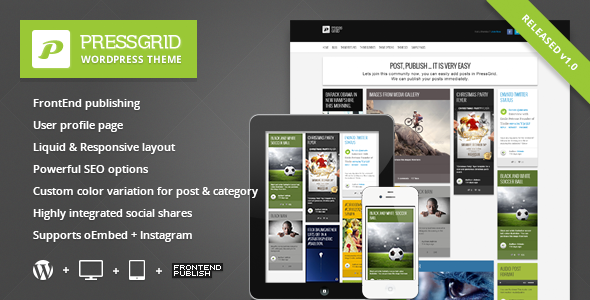 01 preview   large preview1 40 Premium News and Editorial Wordpress Themes